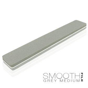 Smooth File Grey Medium