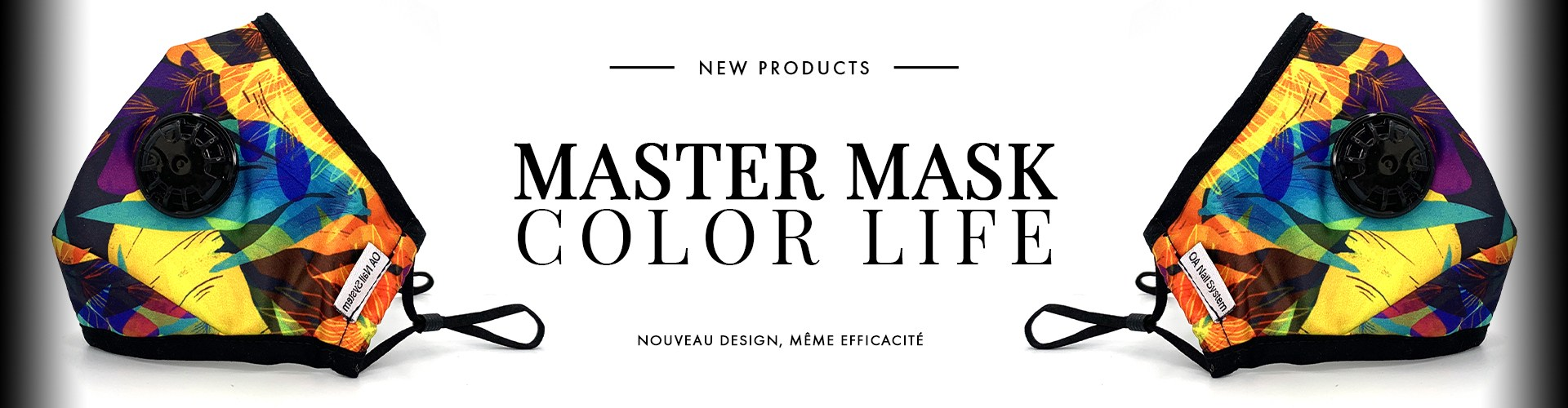 NEW ! MASTER MASK COLOR LIFE