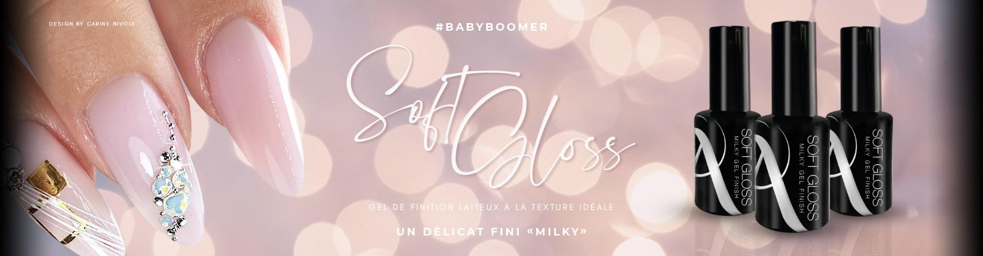 NOUVEAUTÉ : Gel de finition Milky pour Babyboomer